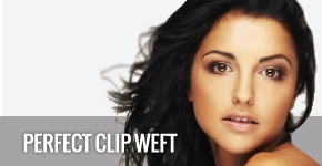 Perfect Clip Weft hair pieces